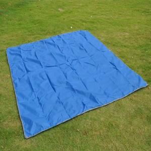 【PUSH!登山戶外用品】2.1X2.15M遮陽棚 地墊 野餐墊P37-2軍綠色