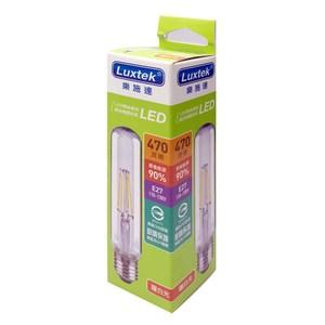 4W條型LED燈絲燈泡E27 黃光