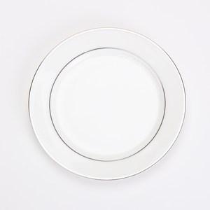 HOLA 銀迴骨瓷平盤15.5cm