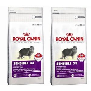 ROYAL CANIN 法國皇家 SENSIBLE 33 腸胃敏感貓 S33 4KG X 2包