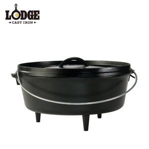 【美國Lodge】鑄鐵戶外荷蘭鍋 6Q