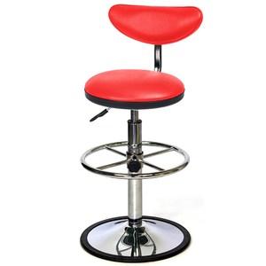 aaronation  - 微笑系列吧台椅 100% 台灣製造紅