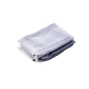 HOLA 土耳其純棉方巾2入(雲灰)30x30cm