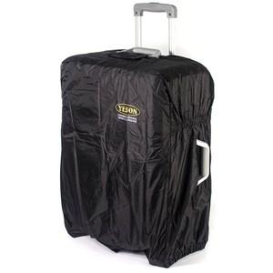 YESON 22-25吋 第二代耐磨尼龍布防潑水行李箱防塵套 MG-8黑