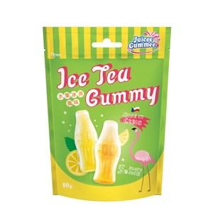 捷克 百靈 QQ軟糖 水果冰茶口味 80g