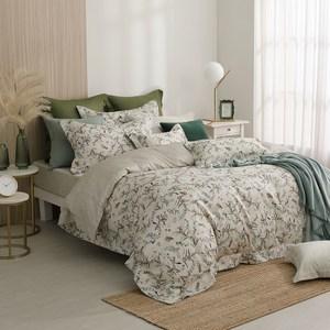 MONTAGUT-秋果季節-300織紗長絨棉兩用被床包組(加大)