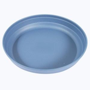 塑質素陶底盤8吋 (藍白) 8D