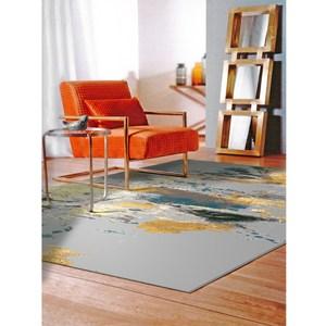 彩繪地毯160x235cm潑畫