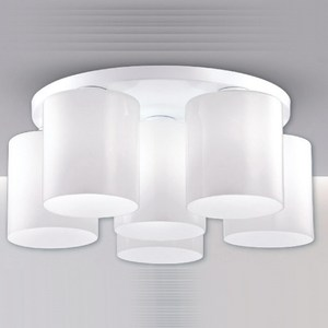 [特價]【大巨光】台製現代風半吸頂燈 中(LW-09-2991)