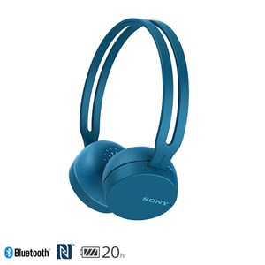 SONY WH-CH400 無線耳罩式耳機 藍色