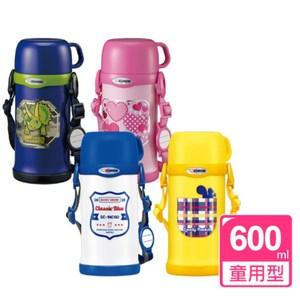 象印【SC-MC60-AZ】600ml兒童保溫瓶-YA黃色 SC-MC60-YA