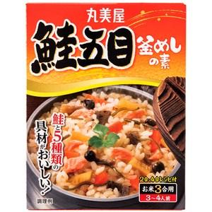 日本丸美屋釜飯料-鮭魚五目