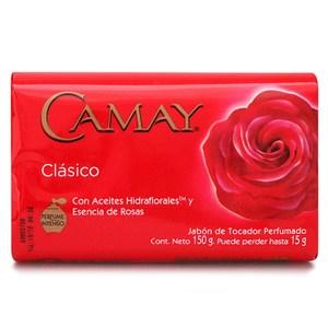 New!!美國進口CAMAY經典香皂-經典紅色(150g)*24