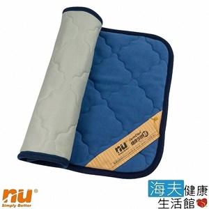 【海夫健康生活館】NU 恩悠數位舒眠健康能量雙面枕墊(75x45cm)