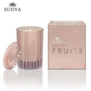 澳洲ECOYA 迷你精緻香氛蠟燭-粉紅香檳 80g