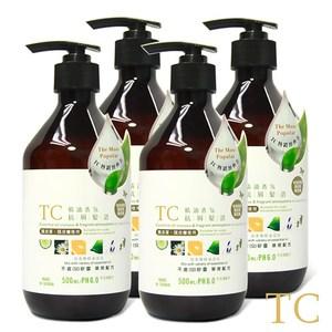 【TC】精油香氛抗屑髮浴 4入組(500ml)