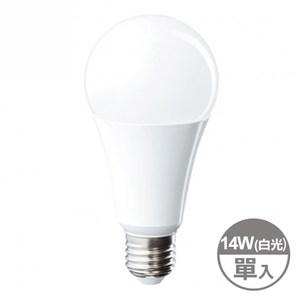 特力屋 Very超值 14W LED廣角球泡型燈泡 白光