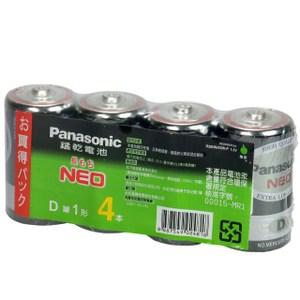 國際碳鋅 1 號電池 4入