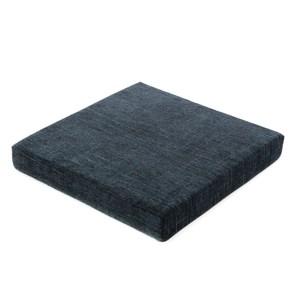 香奈兒絨棉厚坐墊 50x50cm 藍色款