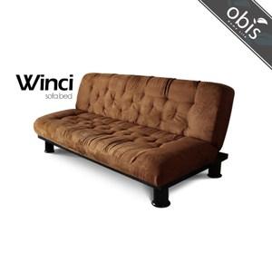 obis winci溫奇 現代風造型沙發床-駝色
