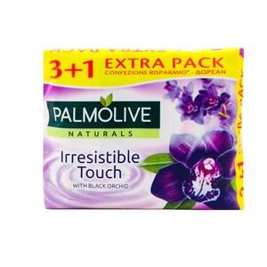 荷蘭Palmolive棕欖潤膚香皂-黑色蘭花(90g*4/組)*9
