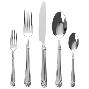 HOLA 塔爾鑽10件不鏽鋼餐具組
