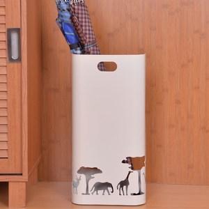 【PUSH!好聚好傘】實用美學設計雨傘收納桶白色I37-1