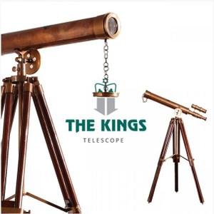 THE KINGS Science大人的科學復古工業西洋望遠鏡