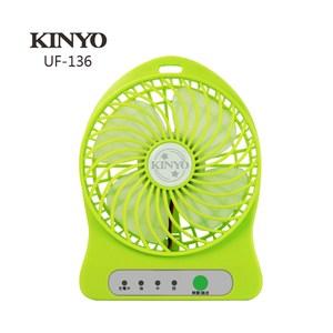 [特價]KINYO小旋風涼風扇 UF-136