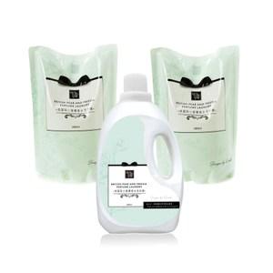 (組)康朵英國梨小蒼蘭香水洗衣精-1瓶2補