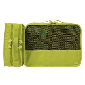 Lapoche 立體旅行衣物收納包(小)-綠色