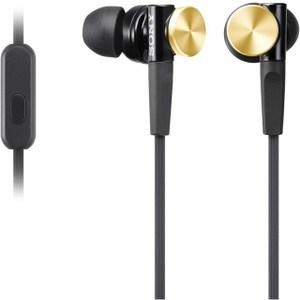 SONY MDR-XB70AP 重低音內耳式耳機麥克風 金色