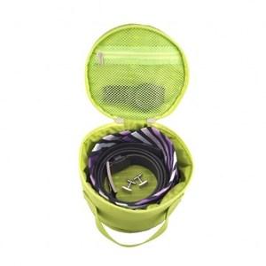 Lapoche 圓筒整理袋-綠