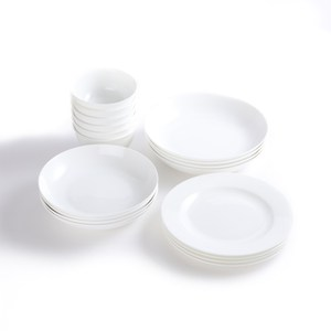 HOLA 緻白骨瓷18件餐具组