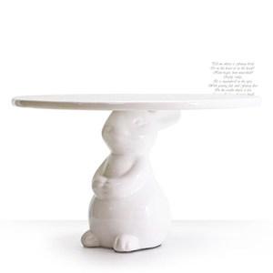 HONEY COMB 立體兔子6吋蛋糕盤/擺盤 GT-HE27
