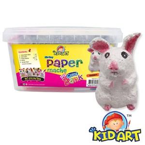KID ART 美國創意手作黏土 紙黏土(蹦蹦兔)