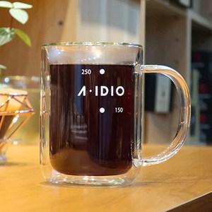 A-IDIO 雙層隔熱保溫玻璃杯
