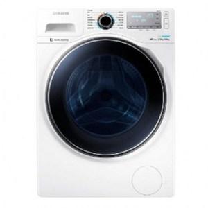 Samsung 炫藍廣角門系列12KG 滾筒洗衣機 WD12J8430GW/TW