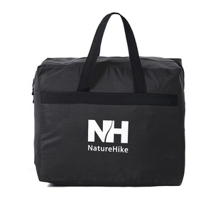 【PUSH! 戶外休閒用品】露營裝備收納袋旅行包旅行袋提袋衣物包衣物袋黑色