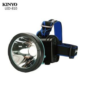 KINYO高亮度 LED大頭燈 LED-810