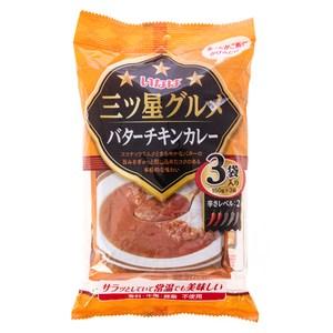 日本稻葉美味三星-濃郁法式奶油咖哩450g
