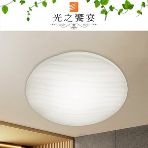 [特價]【光之饗宴】LED 24W水波紋(白光)吸頂燈