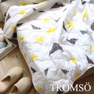 TROMSO都會北歐水洗棉薄款夏涼被-北歐三角