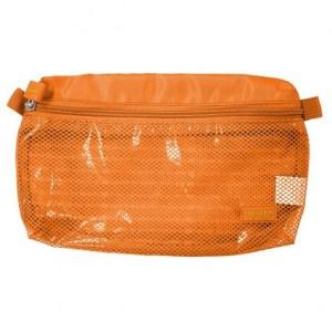 Lapoche 防潑水收納包(大)-橘