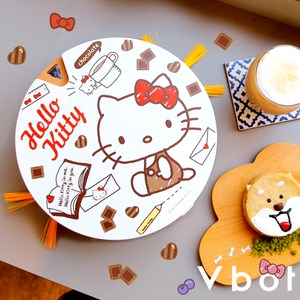 Vbot x Hello Kitty i6+可可歐蕾蛋糕 掃地機器人 尺寸約:23.5cm