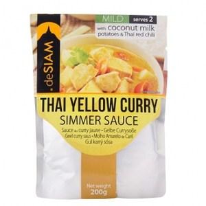 deSIAM泰式黃咖哩調理醬包