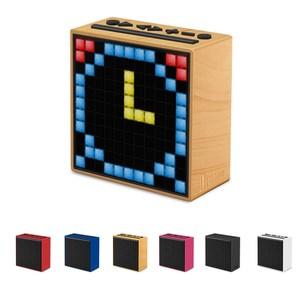 Divoom TimeBox LED智慧藍芽鬧鐘音箱-沉穩黑