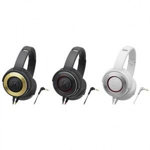 日本鐵三角Audio-Technica密閉型耳罩式耳機ATH-WS55紅色