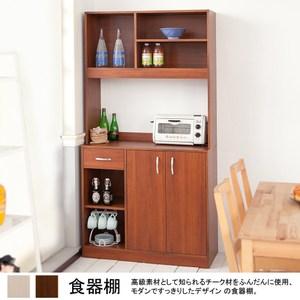 廚房收納置物櫃(柚木)