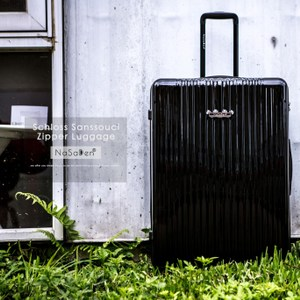NaSaDen 26吋超輕行李箱-無憂系列-5色可選格魯貝黑